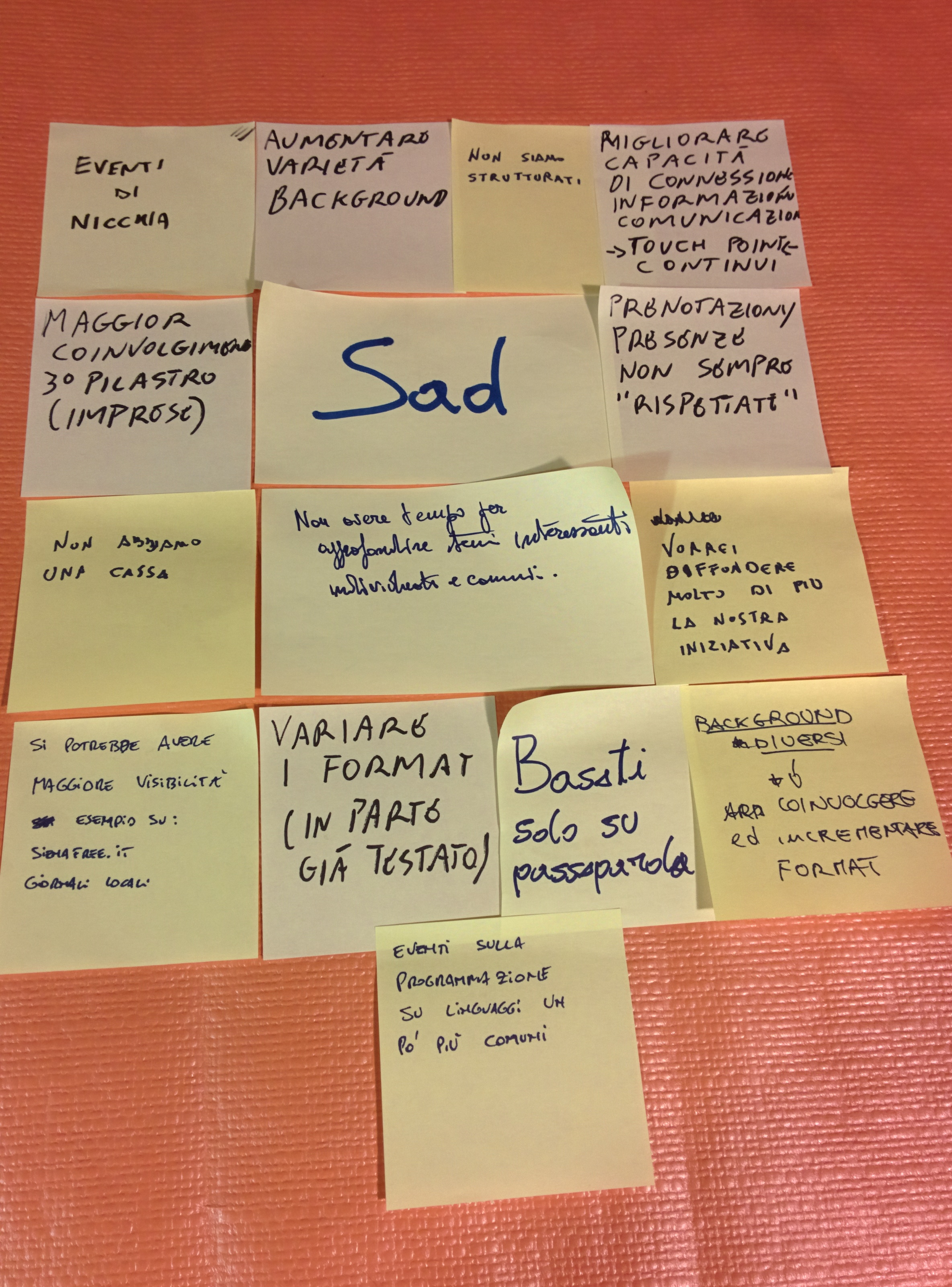 Sad Post-it
